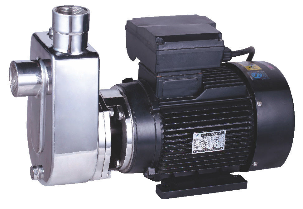 Electric Stainless Steel Self Priming Pump , Self Priming Submersible Pump Copper Wire