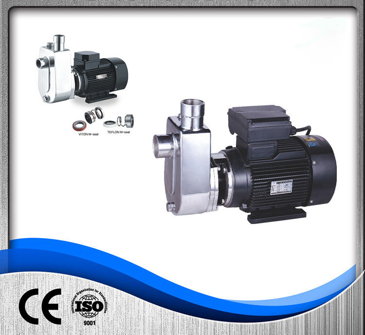 OEM Stainless Steel Self Priming Pump Industrial Chemical Centrifugal Easy Maintenance